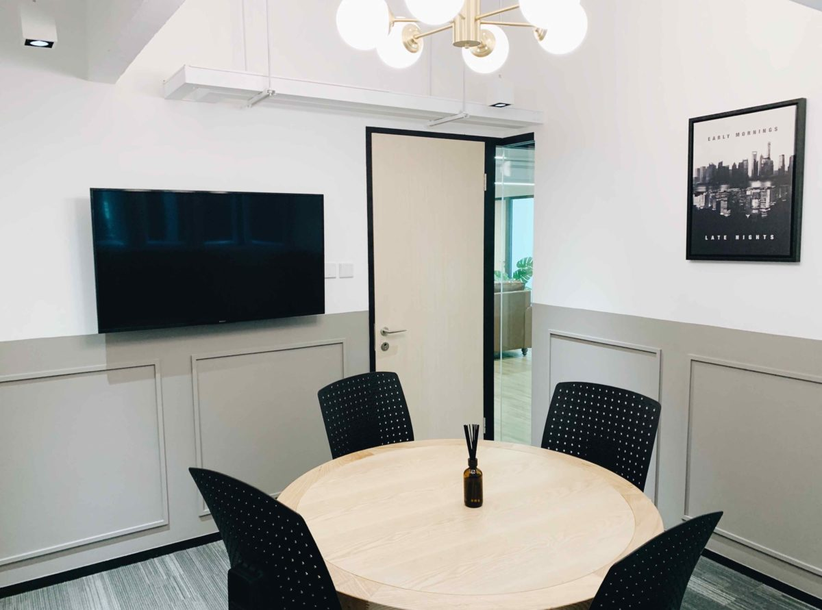 Three Commas Meeting Room