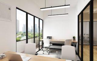 Three Commas Premium Office Suite with Balcony