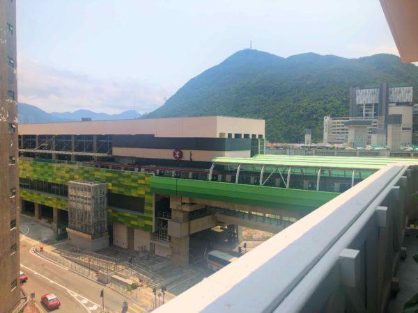 Wong Chuk Hang MTR Station